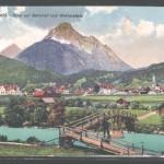 Bahnhof mit Wetterstein