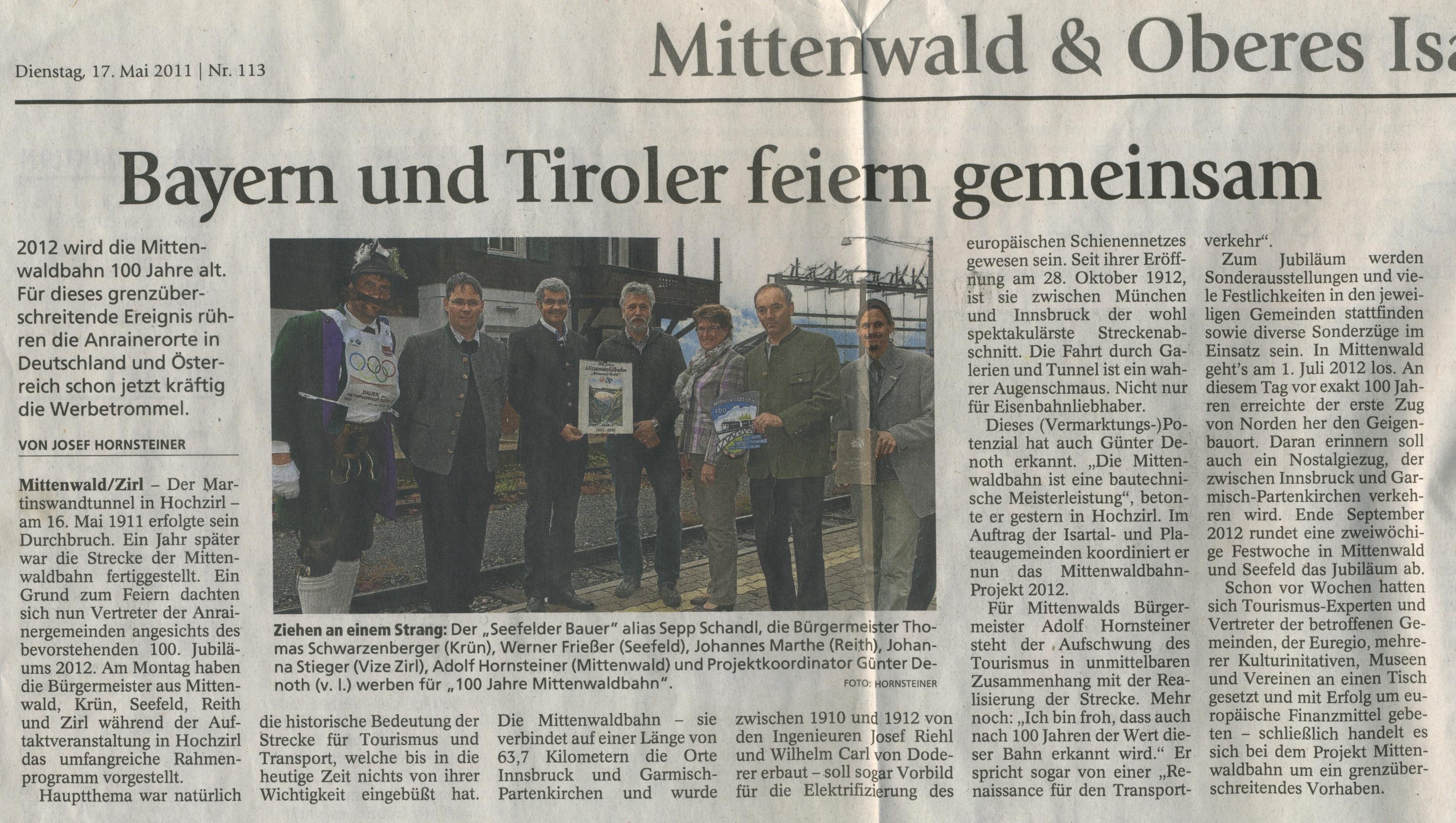 Garmisch-Partenkirchner Tagblatt 17mai2011