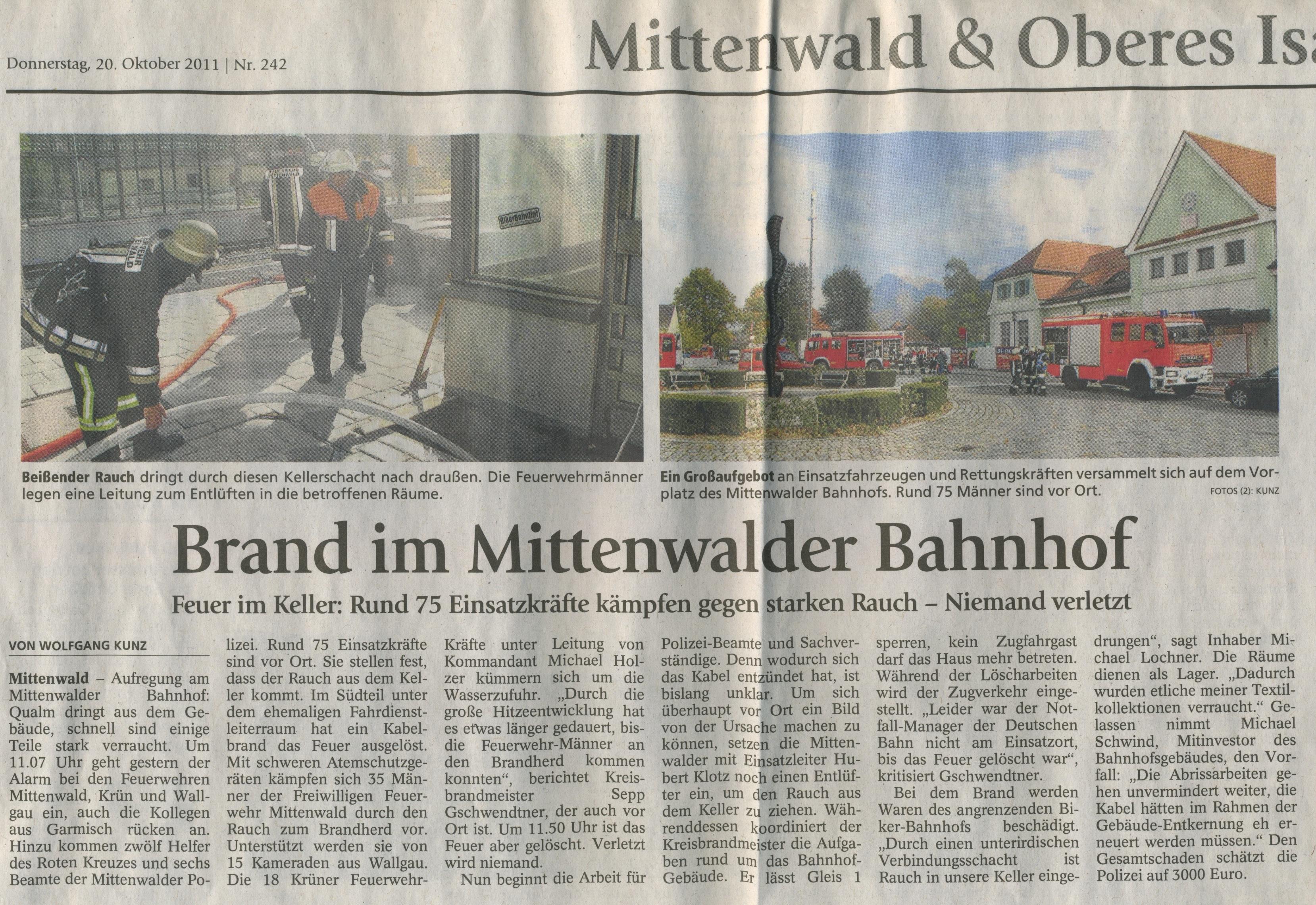 Garmisch-Partenkirchner Tagblatt 20oct2011