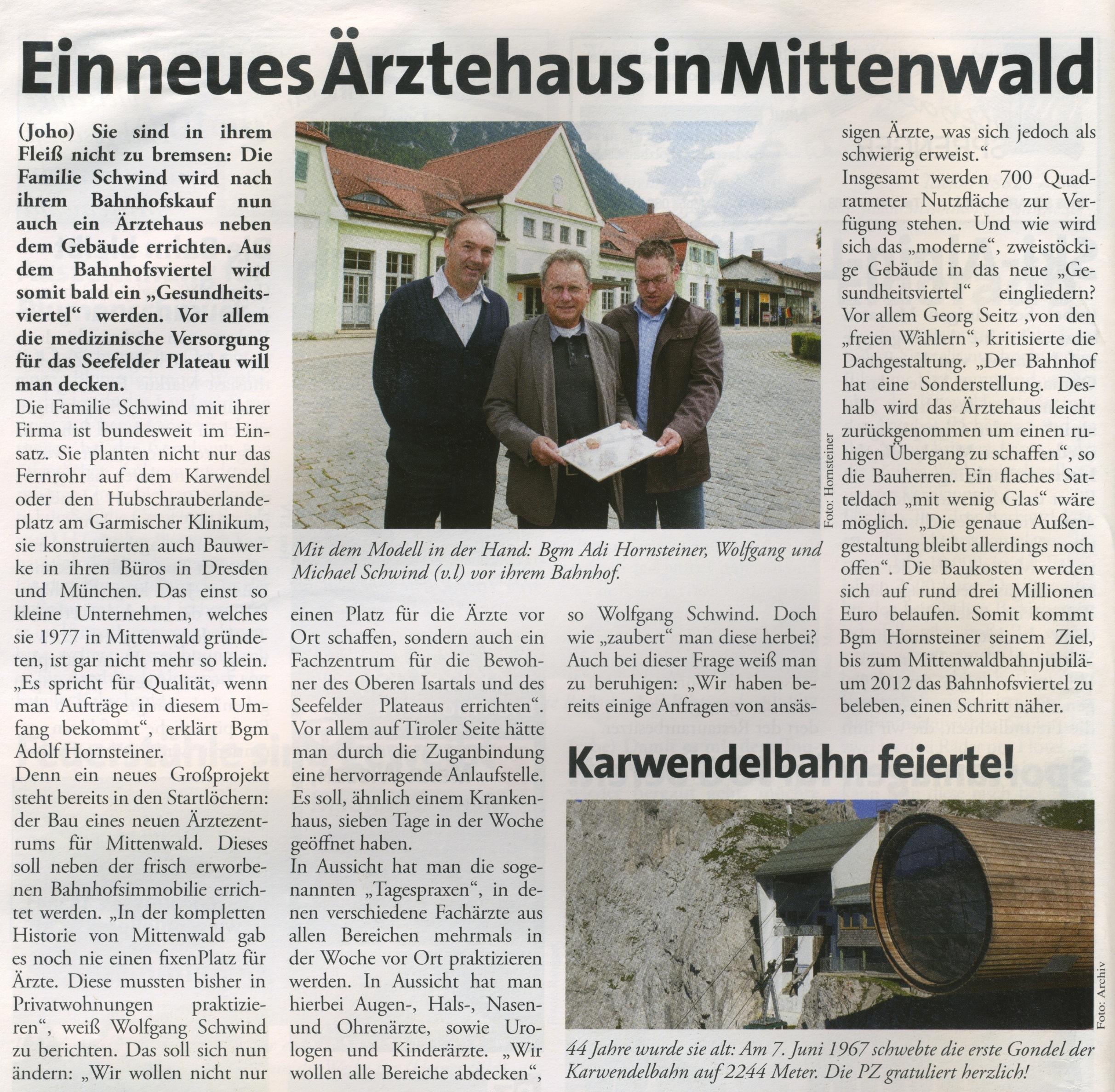 Plateau Zeitung 06/2011