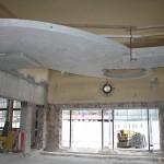 Wartehalle mit neuem Obergeschoss