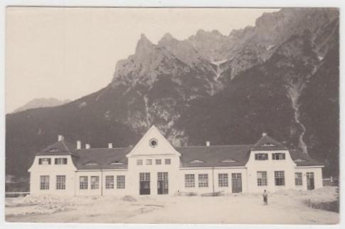 Bahnhof Mittenwald 1912